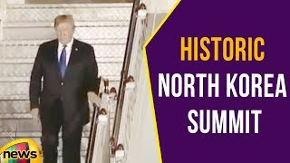 Donald Trump Arrives in Singapore Ahead Of Historic North Korea Summit | Mango News - MANGONEWS