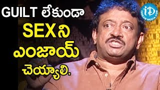 Director Ram Gopal Varma About Prostitution | Ramuism 2nd Dose - IDREAMMOVIES
