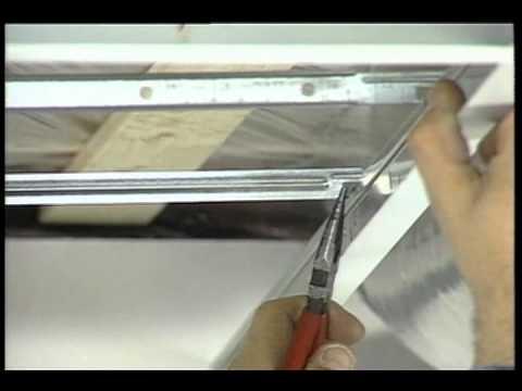 Installation d un plafond suspendu ■ Décoration et de Rénovation