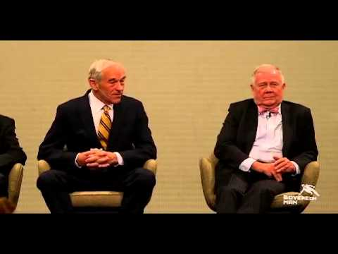 Ron Paul + Jim Rogers on the government