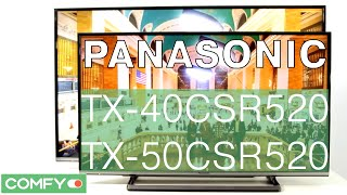Panasonic TX-40CSR520, TX-50CSR520 -современный телевизор со Smart TV -Видеодемонстрация от Сomfy.ua