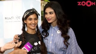 Mouni Roy and Mukti Mohan celebrated Children's Day with Zoom | Exclusive - ZOOMDEKHO