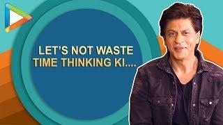 "Shah Rukh Khan: ""Katrina Kaif is most beautiful woman in the world""   Zero - HUNGAMA"