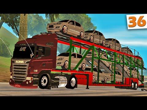 GTA Multiplayer - Caminhão Cegonha