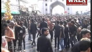 Moulana Dr  Syed Nisar Hussain Hyder Agha briefing about Moharram - THENEWSWALA