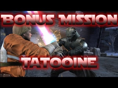 Let's Play: Star Wars The Force Unleashed - Bonus Mission - Tatooine