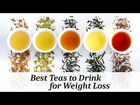Best Teas to Drink for Weight Loss