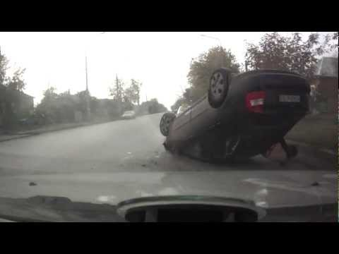 Crash Flips Car