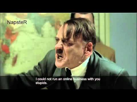 Hitler's reaction to Google's panda update
