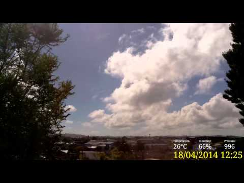 Papakura Weather Friday 18 April 2014