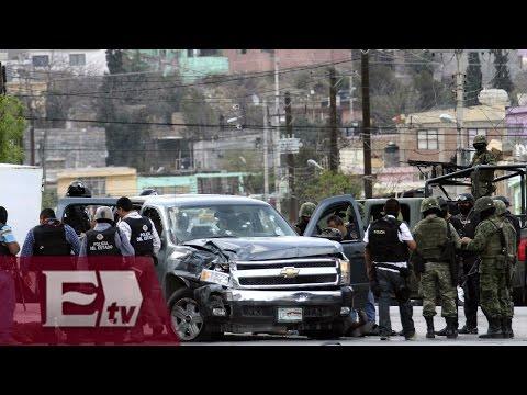 Enfrentamiento entre federales y grupos delictivos en Tamaulipas / Titulares de la tarde