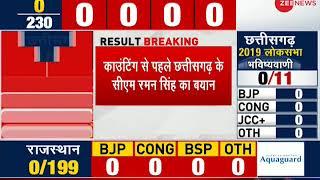 Result Breaking: Raman Singh confident BJP will form government in Chhattisgarh - ZEENEWS