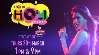 zoOm Holi Party 2014 - Promo | Celebrate with Sunny Leone