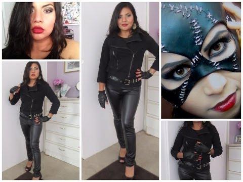 Halloween Outfit inspirado en Gatubela | Catwoman Costume DIY