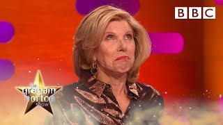 Christine Baranski is horrified Michael Sheen named his penis after her - BBC - BBC