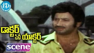 Doctor Cine Actor Movie Scenes - Raju Enthralls Audience || Jayasudha || Kavitha || Krishna - IDREAMMOVIES