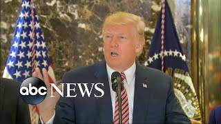 Donald Trump's news conference spirals out of control - ABCNEWS