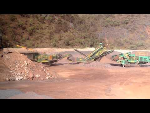 McCloskey Crushing Circuit - Iron Ore  - Western Australia