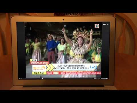 9th Basi Festival & Global Reunion 2015, featured at Umagang Kay Ganda, Naguilian La Union Part 1