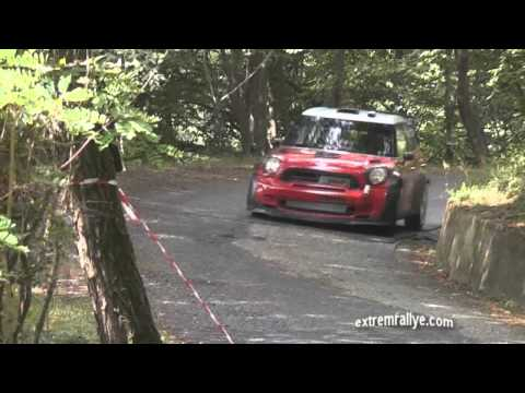 Dani Sordo tests Mini WRC (Premiers essais Asphalte).