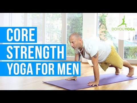 Core Strength Yoga for Men - Men's Yoga Challenge