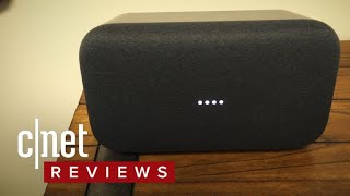 Google Home Max hands-on - CNETTV