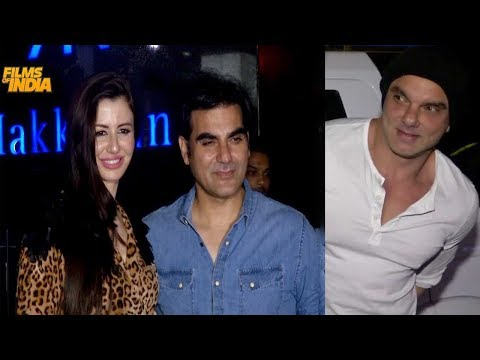 Arbaaz Khan Host a Family Dinner Party at Hakkassan, Bandra