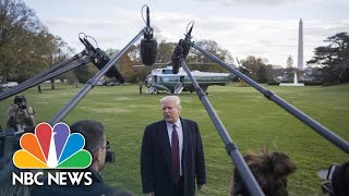 President Donald Trump Says U.S. Stands With Saudi Arabia Following Khashoggi Murder | NBC News - NBCNEWS