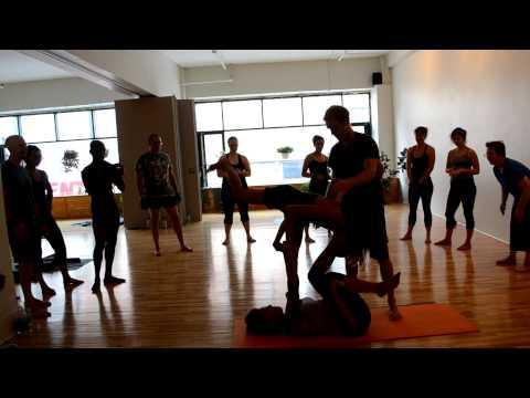 yogaFLIGHT as part of the Acro Yoga Throwdown, Ashtanga Montreal Style