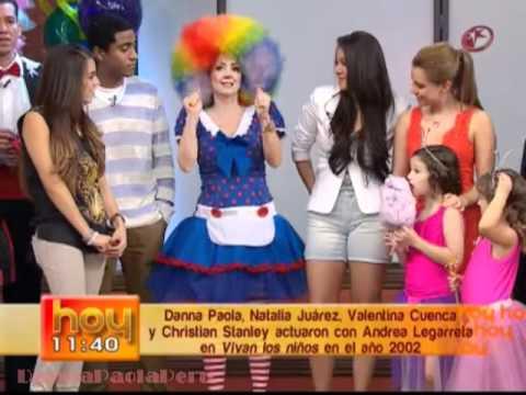 Danna Paola en Programa HOY - Cumpleaños de Andrea Legarreta