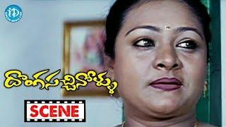 Donga Sachinollu Movie Scenes - Shakeela Comedy || Rambha || Krishna Bhagawan || Raghu Babu - IDREAMMOVIES