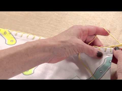 Learn How to Attach Crochet Edgings with Vickie Howell
