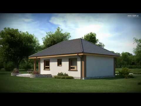 Projekty Z500 - projekt domu Z15