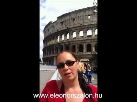 Eleonor szalon - Szülinapi köszöntő Róma
