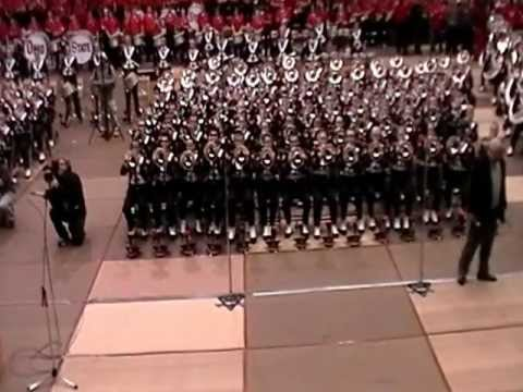 TBDBITL  Pregame Skull Session 10-6-12 Nebraska with Urban Meyer