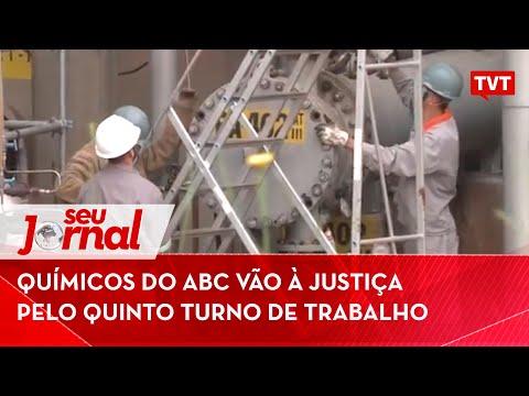 Químicos do ABC vão à Justiça pelo quinto turno de trabalho
