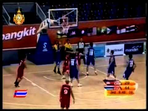 Thailand vs Cambodia - 2011  Sea games men's basketball