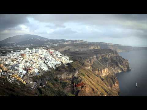 Santorini, Greece: Time Lapse (HD)