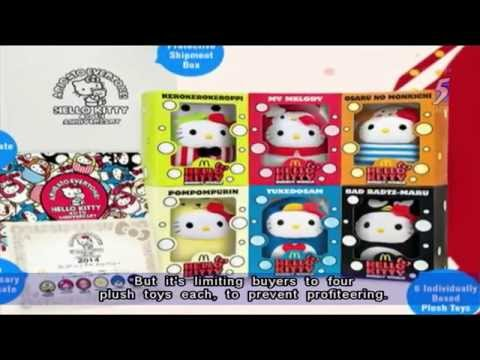 Overwhelming demand for Hello Kitty series causes patchy access to online store - 23Apr2014