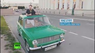 Explore St. Pete: Tour around World Cup host city in classic Soviet vehicle Kopeyka - RUSSIATODAY