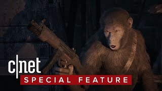 Andy Serkis expands 'Planet of the Apes' to video games - CNETTV