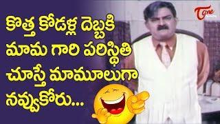 Kota Srinivasarao And Rajendra Prasad Comedy Scenes | Telugu Comedy Videos  | NavvulaTV - NAVVULATV