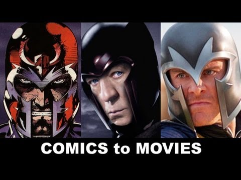 X-Men Days of Future Past 2014: Michael Fassbender, Ian McKellen as Magneto! Comics, Trailer, Movie!