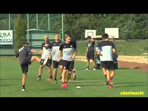 FC INTERNAZIONALE MILANO - Parte 1: Preparazione Atletica Stagione 2012/2013