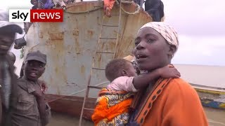 Survivors of Cyclone Idai struggle to survive with no government help - SKYNEWS
