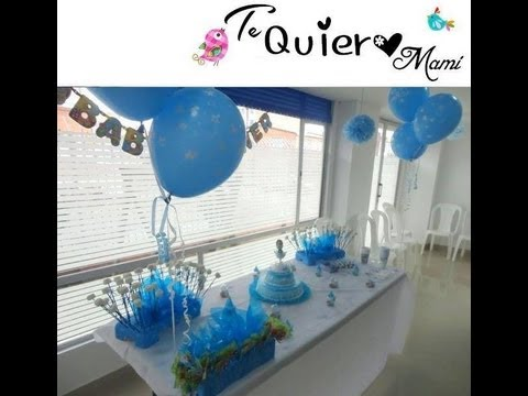 Como decorar el baby shower - FOTOS con el PASO A PASO