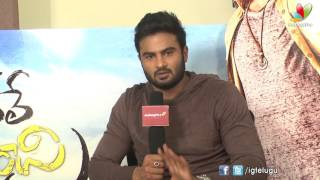 I love to work with new comers : Sudheer Babu - IGTELUGU