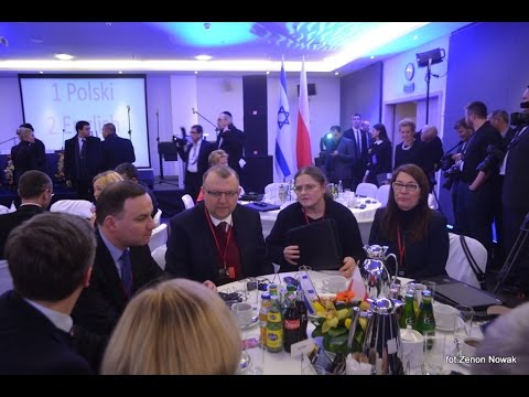 Andrzej Duda na spotkaniu z Knesetem