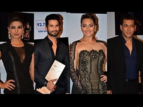 Bollywood Celebs At Big Star Entertainment Awards 2014