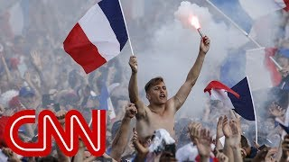 France celebrates 4-2 World Cup win over Croatia - CNN